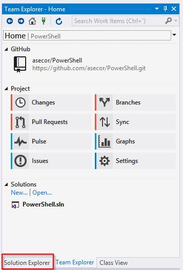 Clone Existing GitHub PowerShell Scripts to Visual Studio